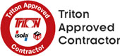 Triton approved contractor